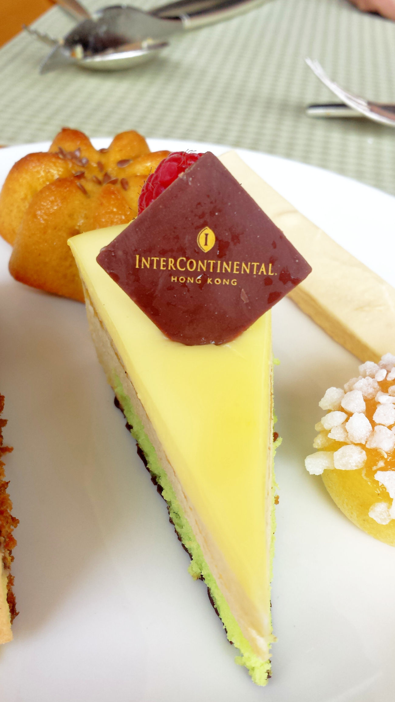 Intercontinental HK:) Intercontinentalhotel Hongkongfood Dessert
