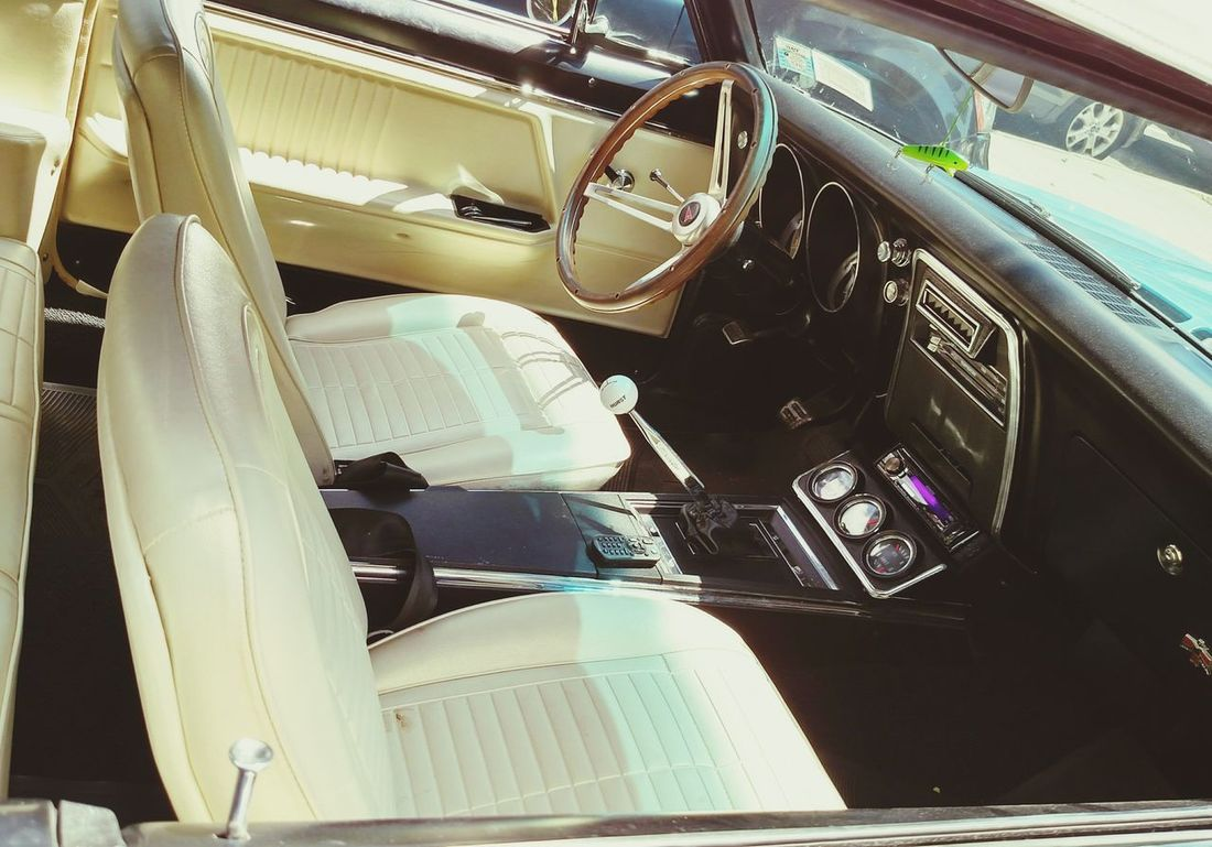 1967 Pontiac Firebird Interior Design