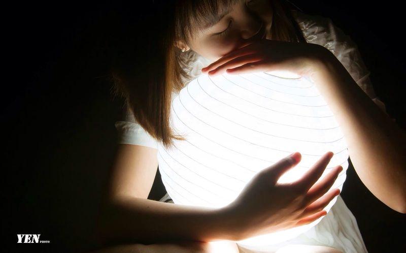 燈籠。 Nikon D800E Photography Photo First Eyeem Photo Girl 燈籠