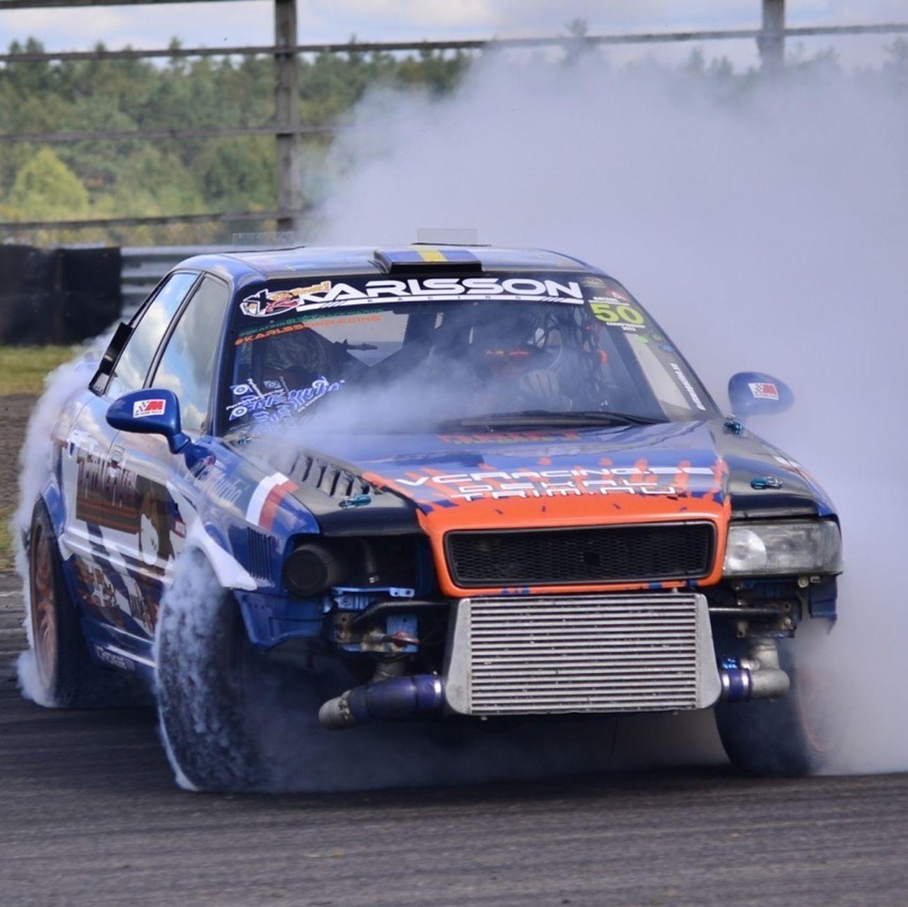 Audi Quattro Drifting Smoke
