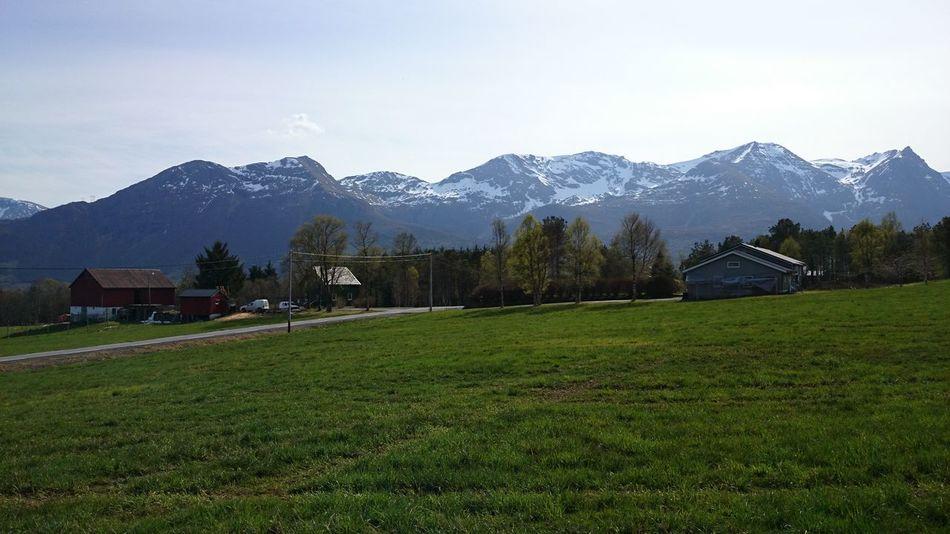 Mountains Sun Norway Eide På Nordmøre