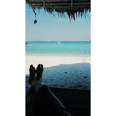 Relax HappyPuYnoON . . Lipe Sea Beach Travel Journey VSCO Vscocam