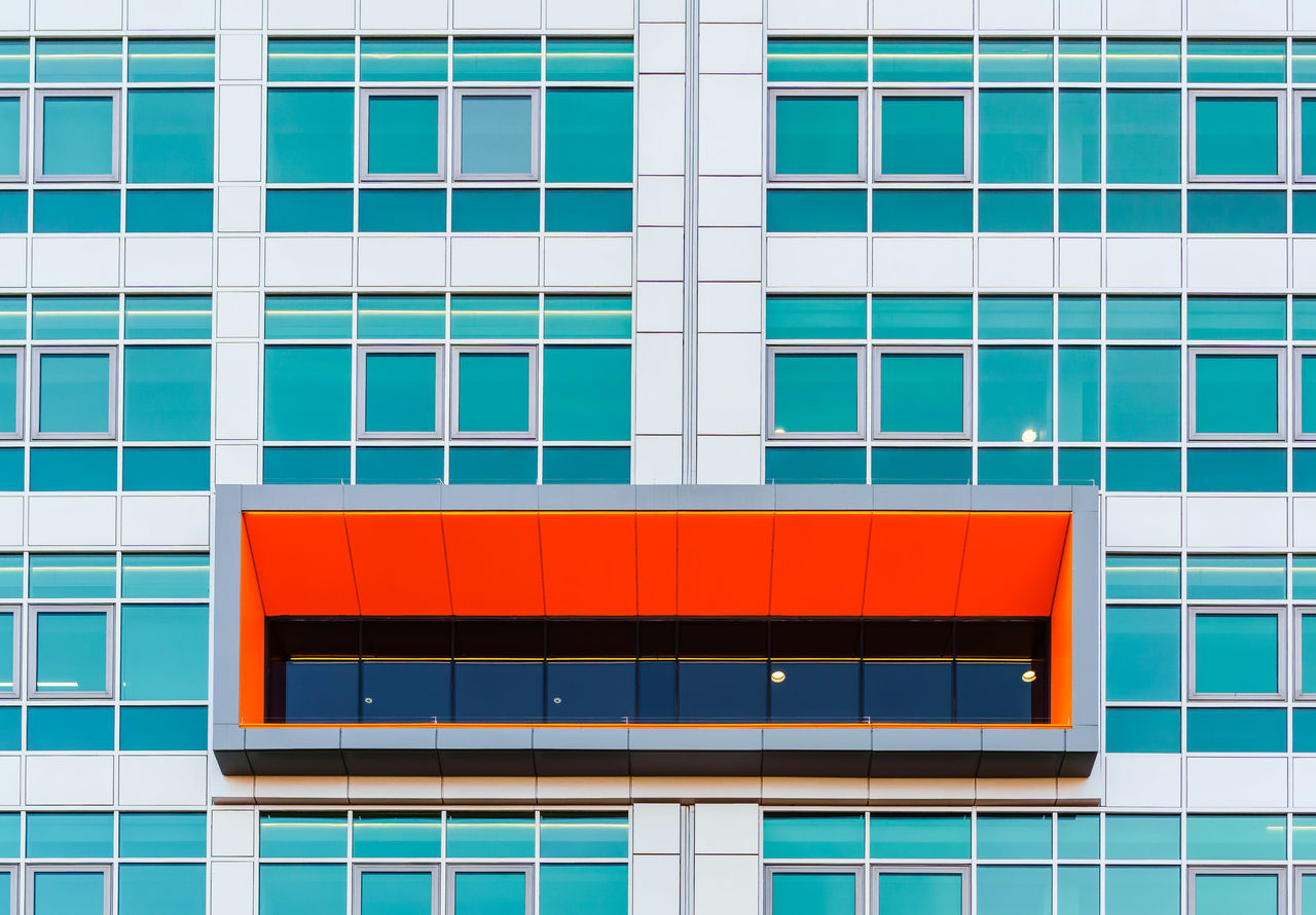 Architectural Feature Architecture Architecture Backgrounds Blue Building Building Exterior Built Structure City Day Façade Minimal Minimalism Minimalist Minimalist Architecture Minimalist Photography  Minimalistic Minimalobsession Modern No People Outdoors Pattern Rectangle Red Window