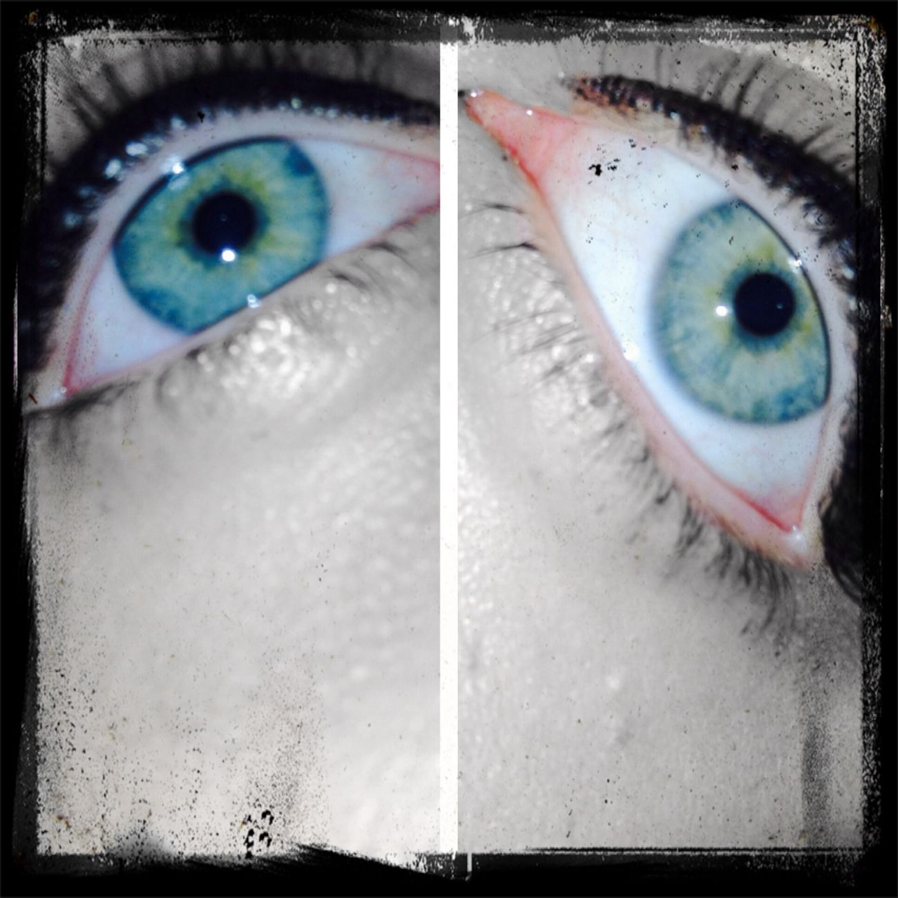 So my eye are two different colors Two Different Colors Two Colours