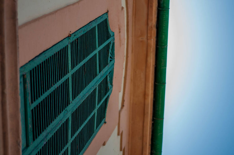 Architecture Majorca Mallorca SPAIN Shutters Wooden Shutters Close-up Day Green Color Looking Up No People Old Building  Outdoors Prison Window