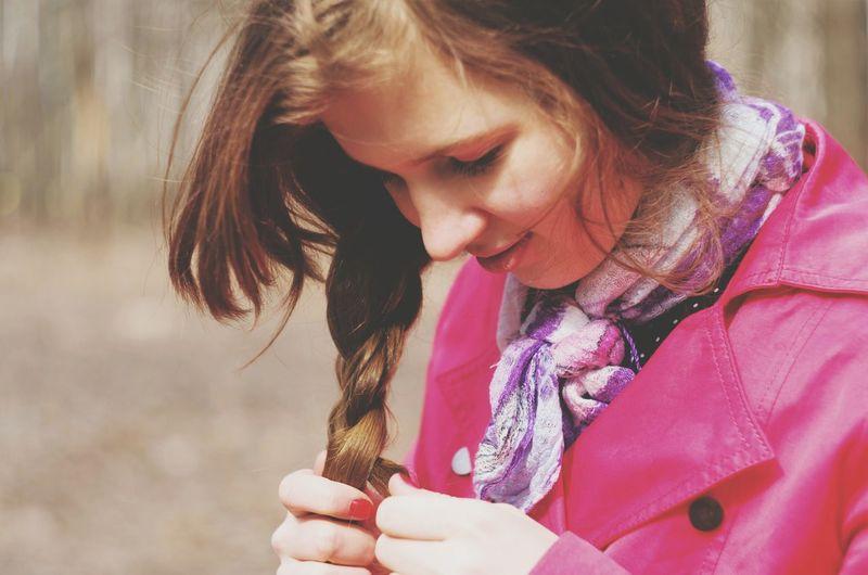 отдых прическа косичка люблю идеи для фото приятно воспоминания  красивая Ромашки красивая девушка Осень 🍁🍂 осень прекрасна 🌾🍂🍃