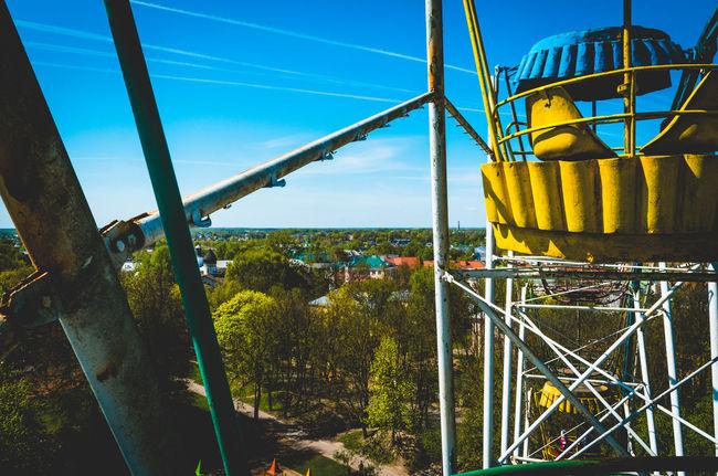 Blue City Day Landscape No People Pskov Russia Sky Soviet