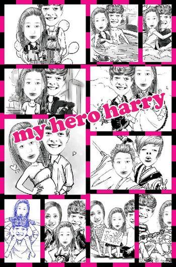my hero harry ... One Direction ❤ Boyfriend❤ Love ♥ Harry Styles <3