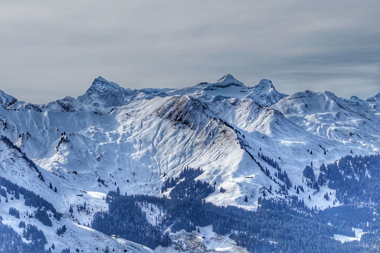 Snow Snowcapped Mountain Mountain Outdoors Landscape Extreme Terrain Cold Temperature Winter Nature No People