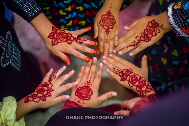 Bridemaids Bridemaids Florist Wedding Kids Hand Flower Drawing Hands