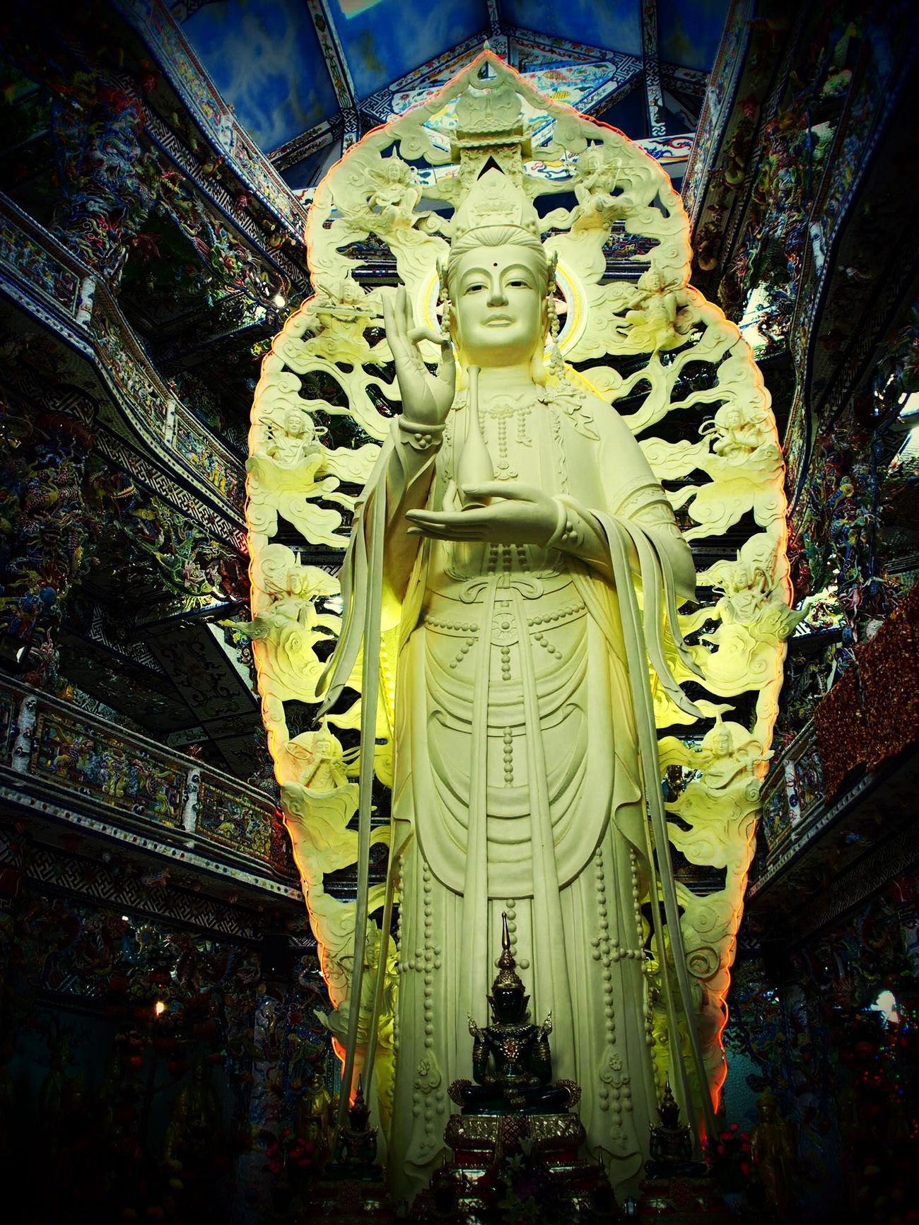 Religion Guanyin Budha Statue Spirituality Happiness Photography Taking Photos ,Vietnam Beautiful Relaxing Cheerfulness Peaceful Peaceful Mind