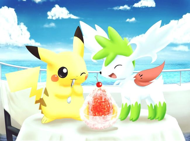 HD Dessin Draw Pokémon Pikachu Ice Cream