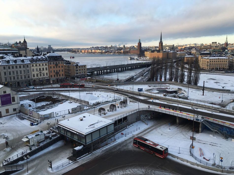 Beautiful stock photos of sweden, Architecture, Beauty In Nature, Bridge - Man Made Space, Building