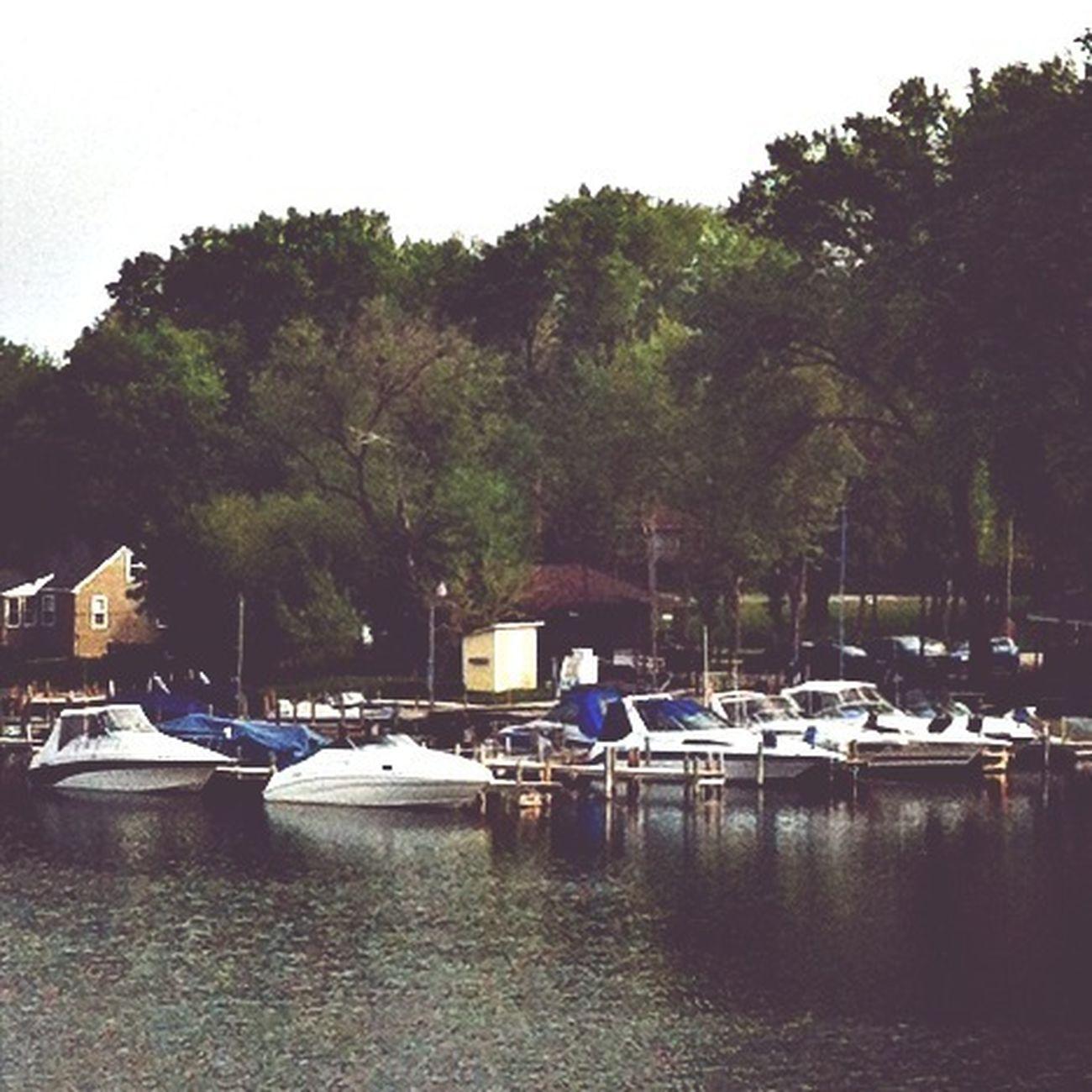 Boats Lake Wisconsin Boat Dock