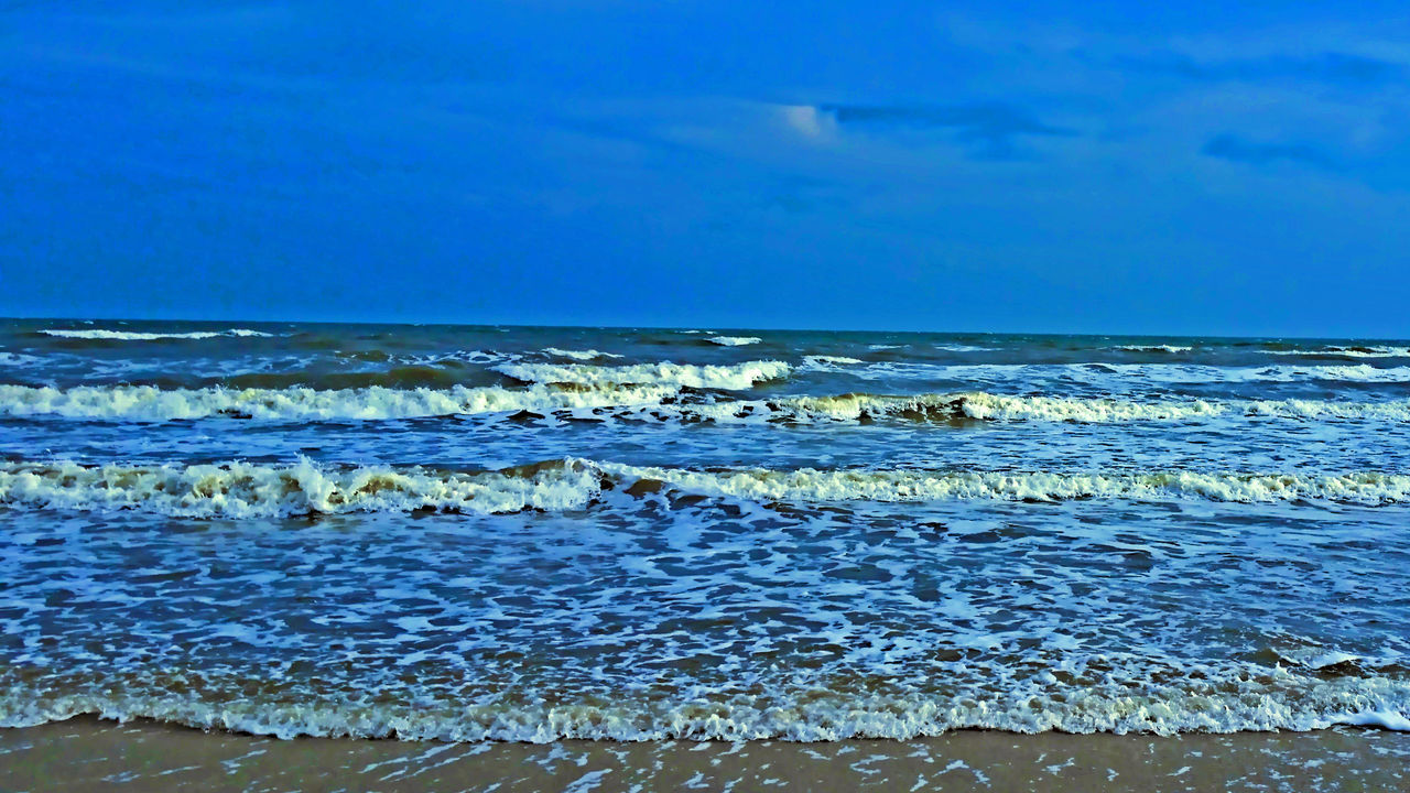 Beach Nature Ocean Texas Tranquility Tranquil Scene Sea Outdoors Horizon Over Water Majestic Galveston