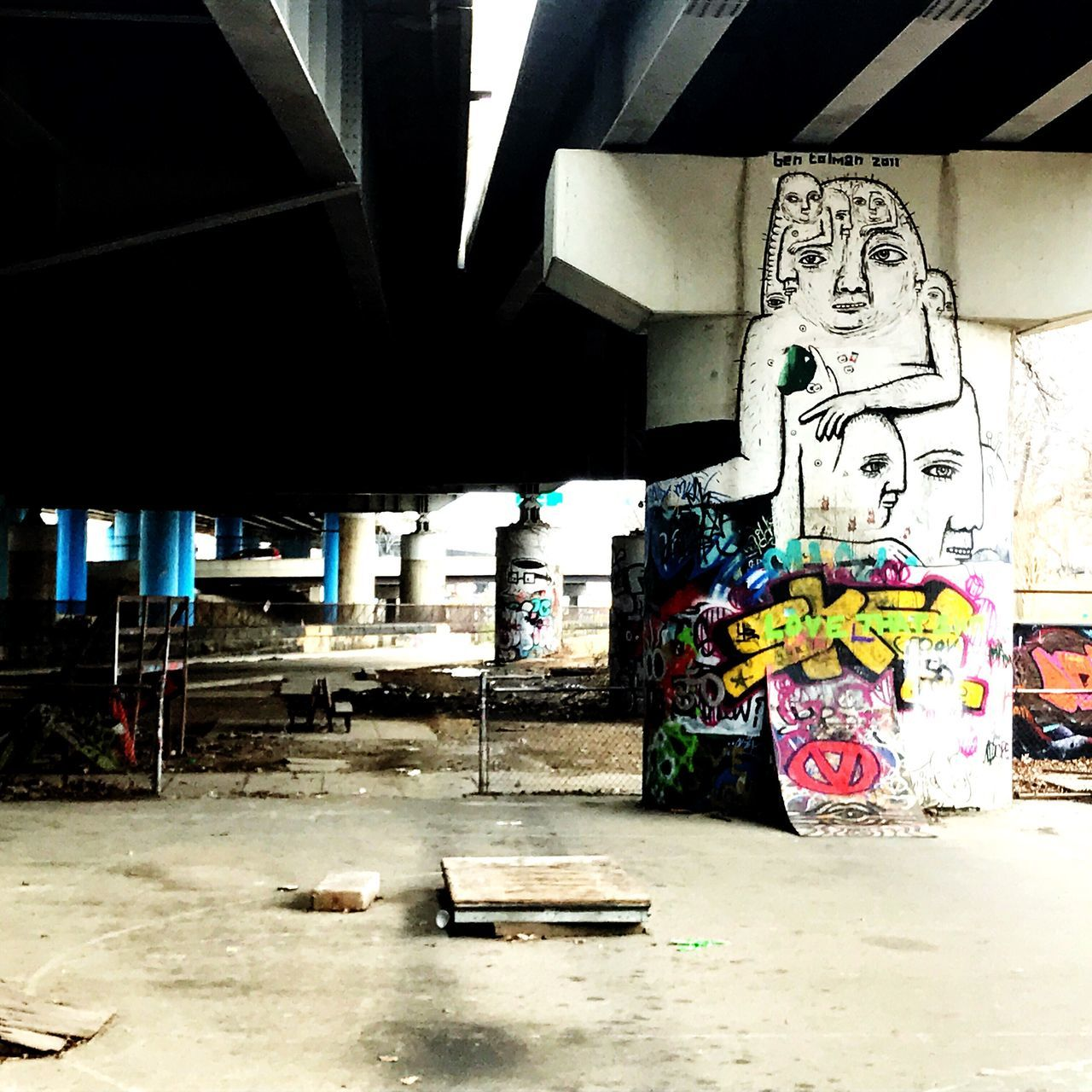 Graffiti Wall Built Structure No People Architecture Outdoors Abandoned Places Underpass Art