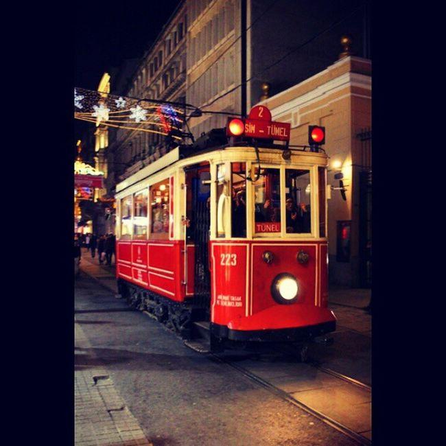 Taksim Galata Tramvay Istanbul istanbuldayasam ist_instagram