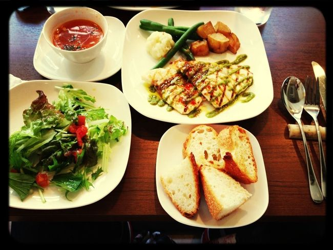 Lunch Time:)