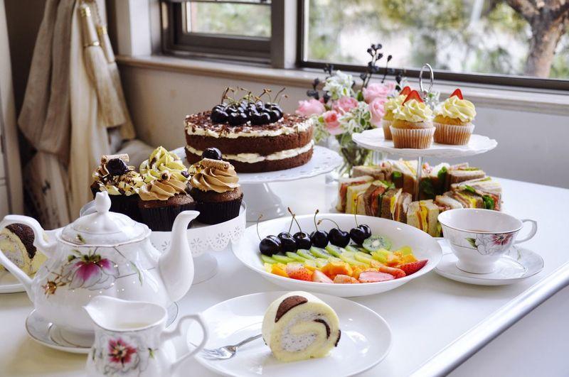 Enjoy Eating Enjoying Life Afternoon Tea Cake Cake Cake Cake  Photography