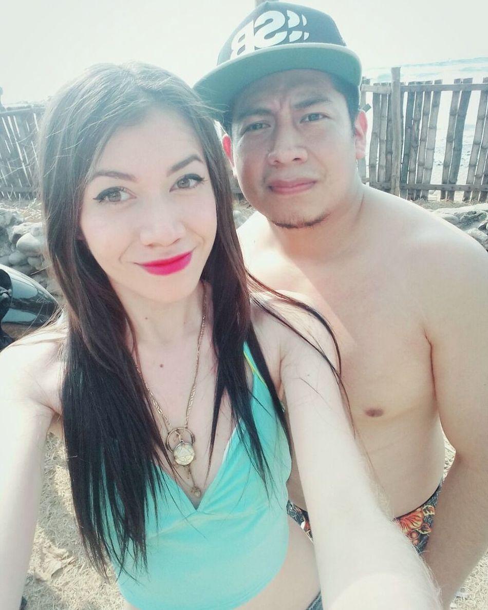 Playita Vacations Happiness Smiling Michulo Enormemente Feli! Juntos 💜 El Amor De Mi Vida ❤ Salvadorean Girl♡ Chris&cleli Enjoying Life Relaxing