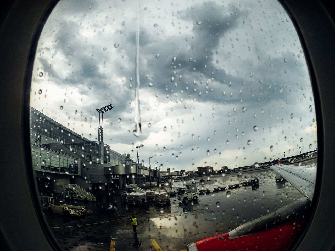 Airplane Airport Boarding Car Cloud - Sky Drop Enjoy Finding New Frontiers Flight Glass - Material Monsoon Rain RainDrop Rainy Season Sky Start A Trip Transparent Transportation Traveling Home For The Holidays Vacations Vehicle Interior Water Weather Wet Window