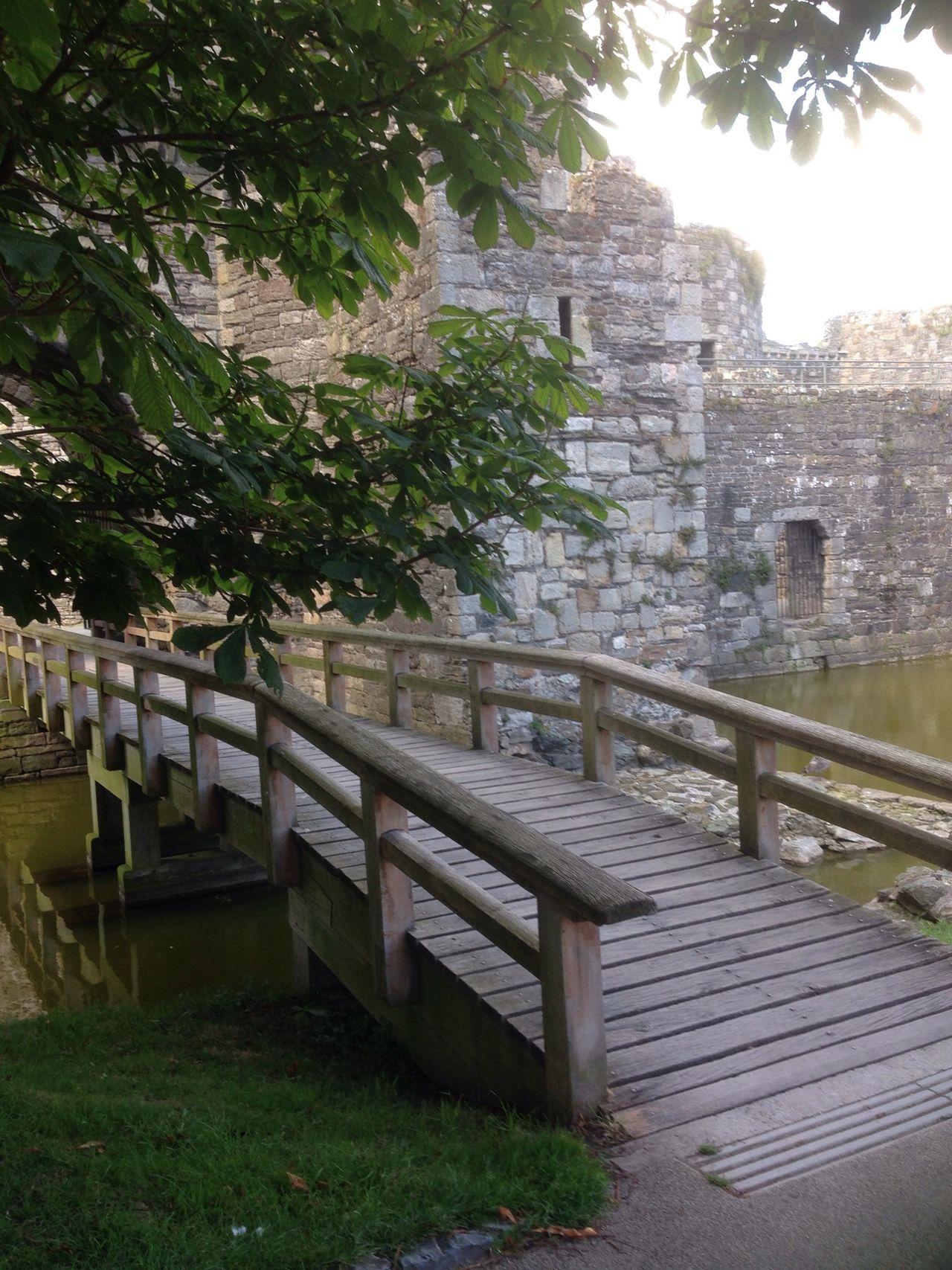 Beautiful Beaumaris castle Old Castle Old Bridge Moatedcastle