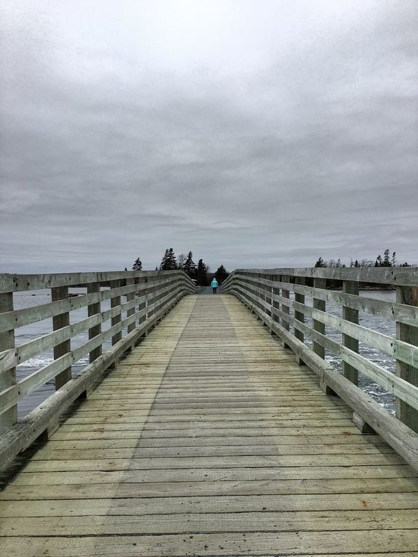 Beach Clouds Greyskies Dof