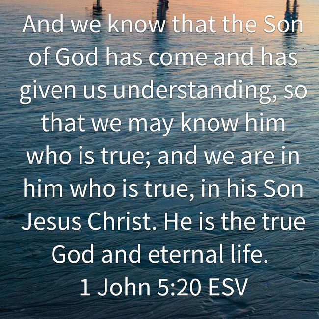 Message True God Jesus Christ is the only way to the Father The Way, The Truth, And The Life every other effort is Futile. Stop Struggling