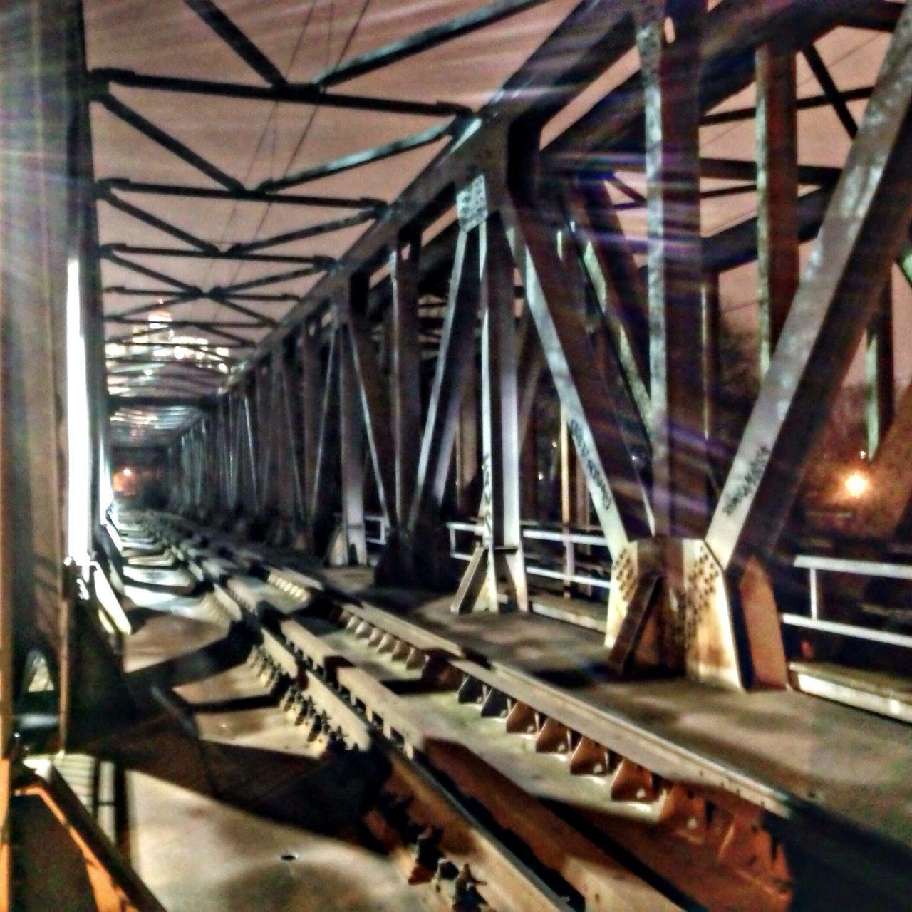 Railway bridge Bridge #railway #railwaybridge #night Nightphotography #castle Trencin #snapseed #iphonephoto Iphonephotography
