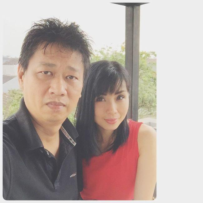 Me&Myhusband My Partner Lovemyfamily Selfie ♥ Myalbum Happysunday INDONESIA