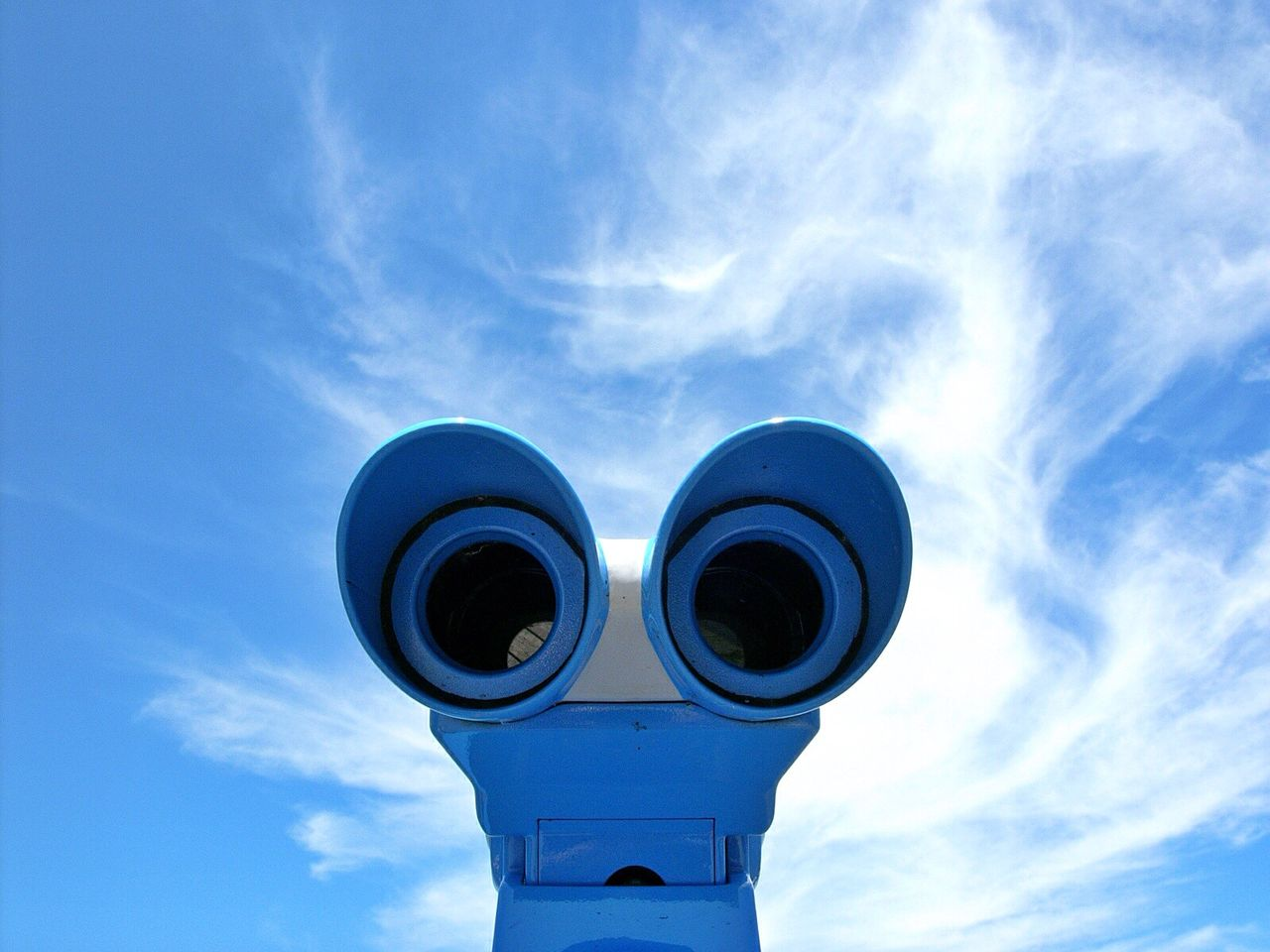 blue i see faces clouds and sky Walking around summer Hello world no people Low angle view The OO Mission