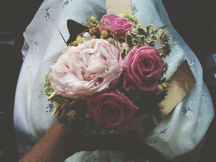 Wedding Time Hochzeitstag Flowers Roses