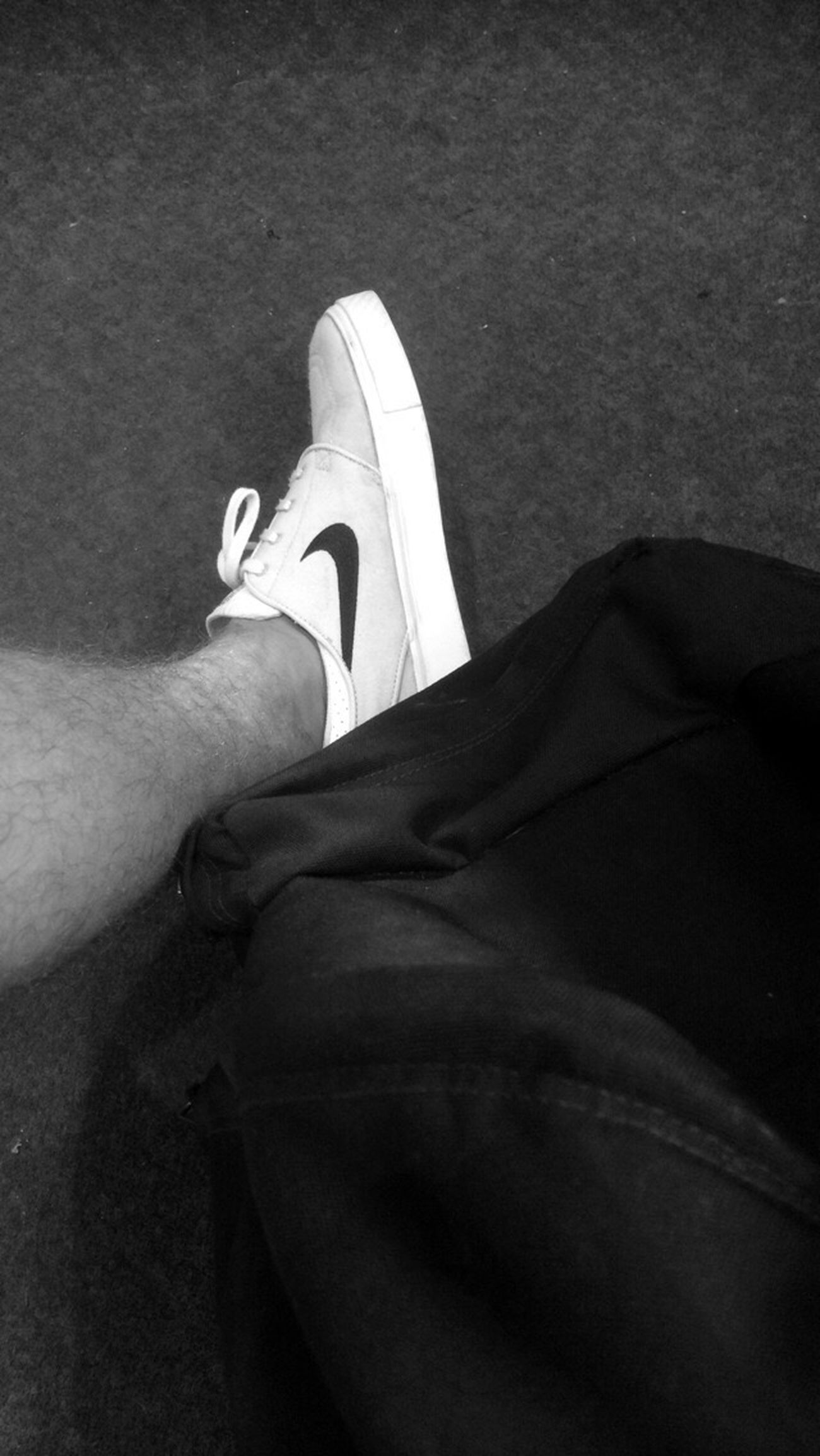 Just do it Sneakers Nike Black And White