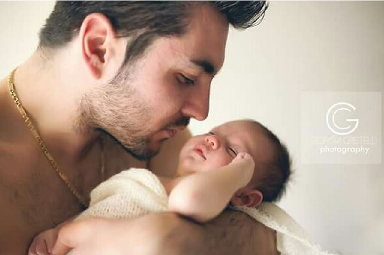 Fatherhood Moments Father & Son Father's Day Newborn