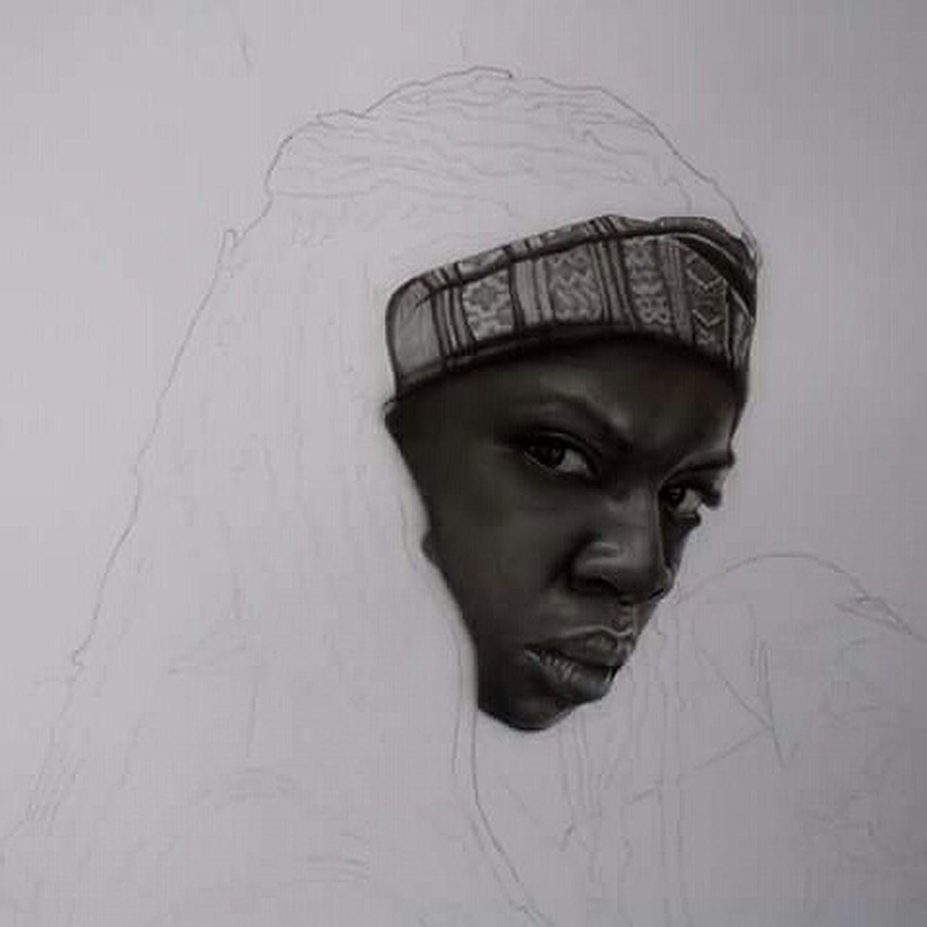 In Progress  Drawing Michonne Thewalkingdead Fanartdrawings Fanart GraphitePencil Graphite Art The Walking Dead Drawingtime