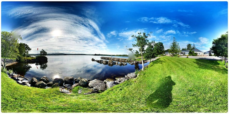 Photosphere Enjoying The Colours The View From Here Enjoying The Light Not The Usual Quiet Moment 2015 08 13