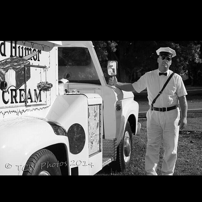 Tcwphotography.com Black&white Ice Cream Truck