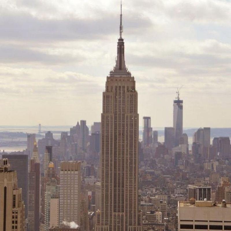 Empire WTC Panorama View Topoftherock Rockefellercenter Newyork Manhattan Love Honeymoon