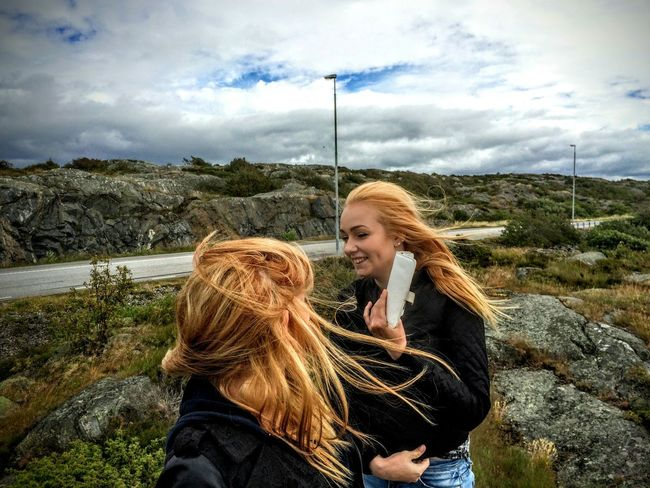 Enjoying Life Taking Photos Up Close Street Photography Landscape_Collection People Landscape Sweden-landscape Öckerö Let Your Hair Down Hiking Girls Archipelago People Photography Eyeemphotography Joy Joyful In The Moment Women Who Inspire You