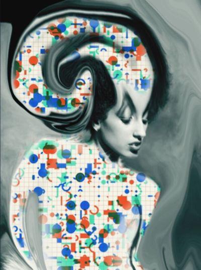Cut And Paste The Age Of Aquarius In Cosmos We Trust Melting Revelations Genetic Decendency