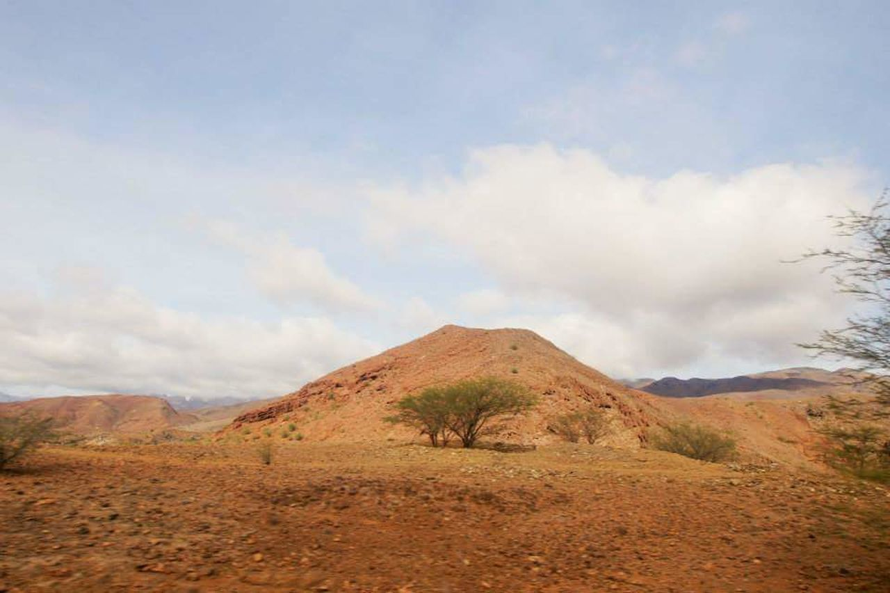 landscape, nature, cloud - sky, mountain, tranquility, sky, scenics, tranquil scene, day, beauty in nature, no people, outdoors, arid climate