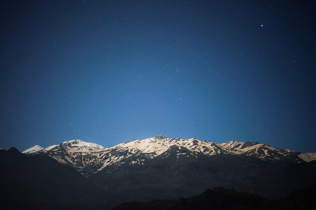 A new edit of one of my favourite recent shots My God, It's Full Of Stars Starry Night White Mountains at Night Nightphotography Nightlights Snowy Peaks My God, It's Full Of Stars