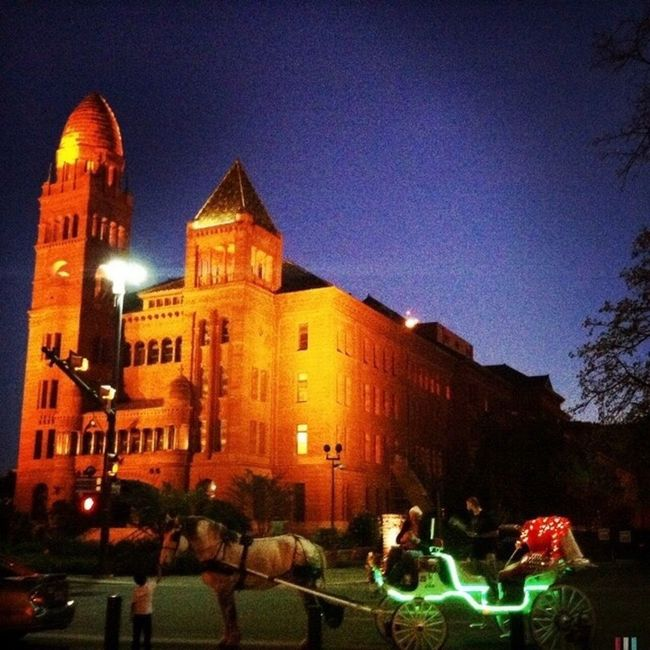 Bexar County Courthouse Learn & Shoot: After Dark
