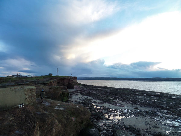 Beach Beauty In Nature Cloud - Sky Day Hilbre Island Horizon Over Water Low Tide Mountain Nature No People Outdoors Sandstone Sandstone Cliffs Sandstone Rocks Scenics Sea Sky Tranquil Scene Tranquility Walking Water Wirral Wirral Peninsula Wirralcountrypark Woman