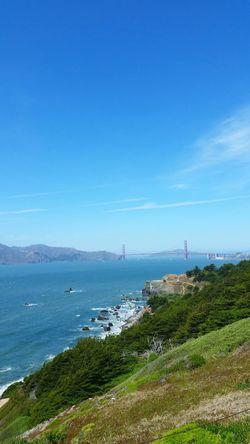 Beautiful Day Golden Gate Bridge Ocean View Nature Photography Summerdays  Amateurphotography EyeEm Nature Lover