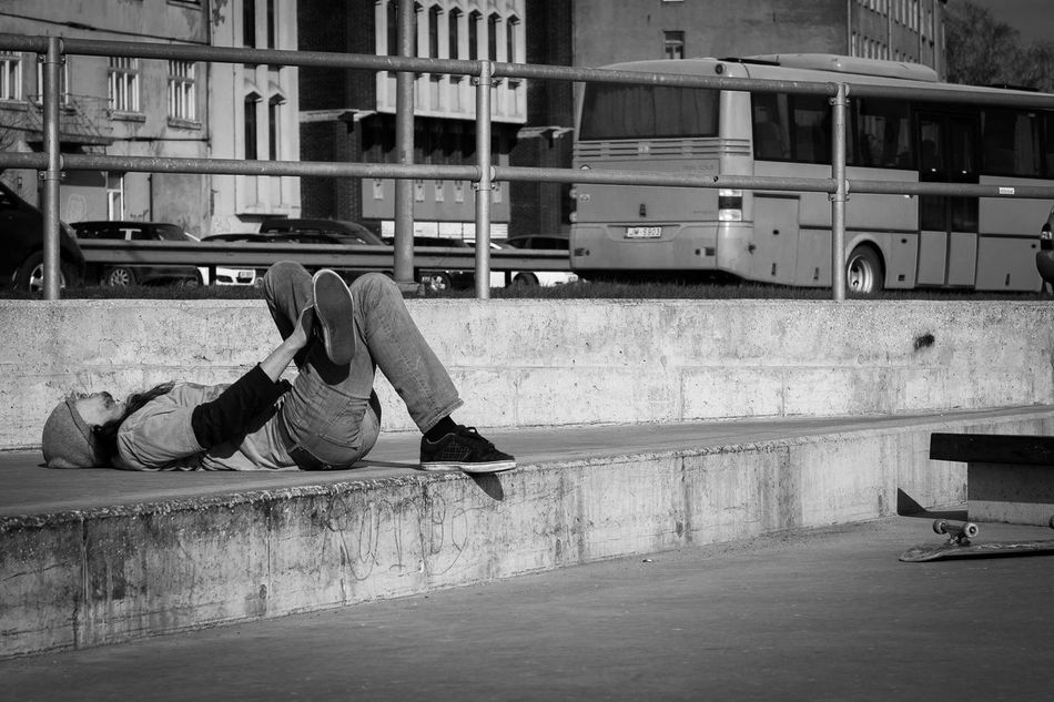 Accident Architecture Boys Building Exterior Built Structure Casual Clothing Childhood Day Full Length Injury Leisure Activity Lifestyles Men One Person Outdoors People Real People Riga Skateboarding Street Urban Young Adult