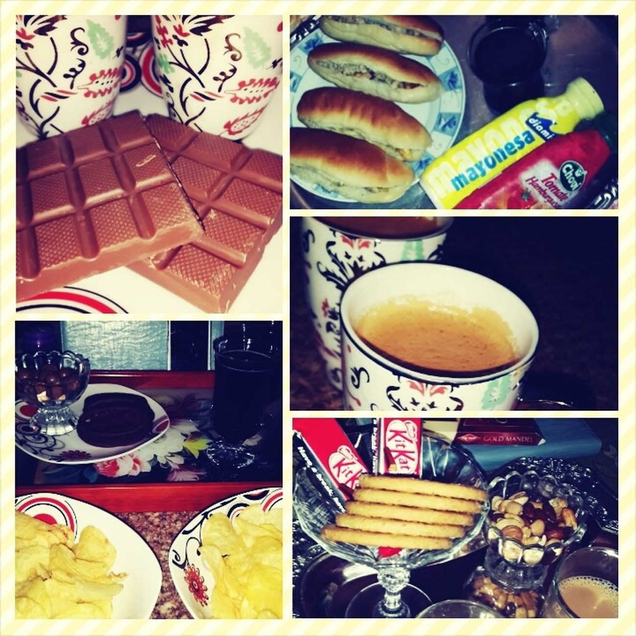 was the best 2 days with ..meroo.. Girls Night In Food Having Fun