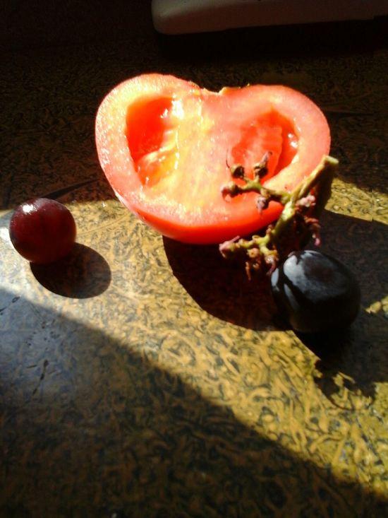 Tomatoes. & Grapes