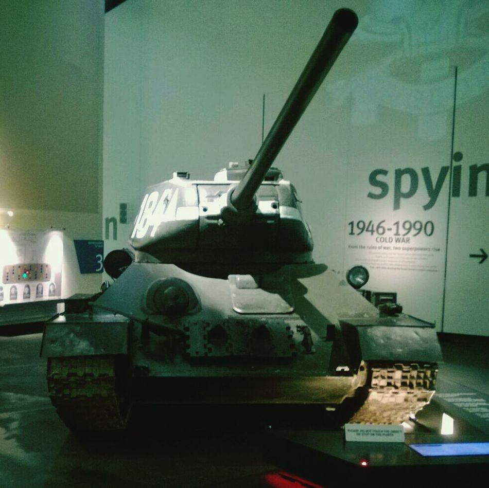 Exhibition Ww2 T34 Memorial - Russian T-34 Tank WWII