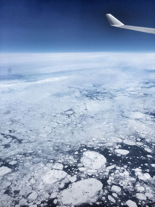 hudson bay ice Ice Canada Hudsonbay Plane View From Above View From The Window... View From An Airplane Airplane Aircraft Weather Climate Climatechange Nature Photography Traveling